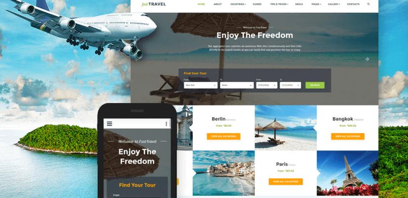Những tính năng quan trọng của web du lịch