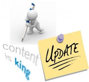 Cần phải cập nhật nội dung mới thường xuyên cho website của bạn.