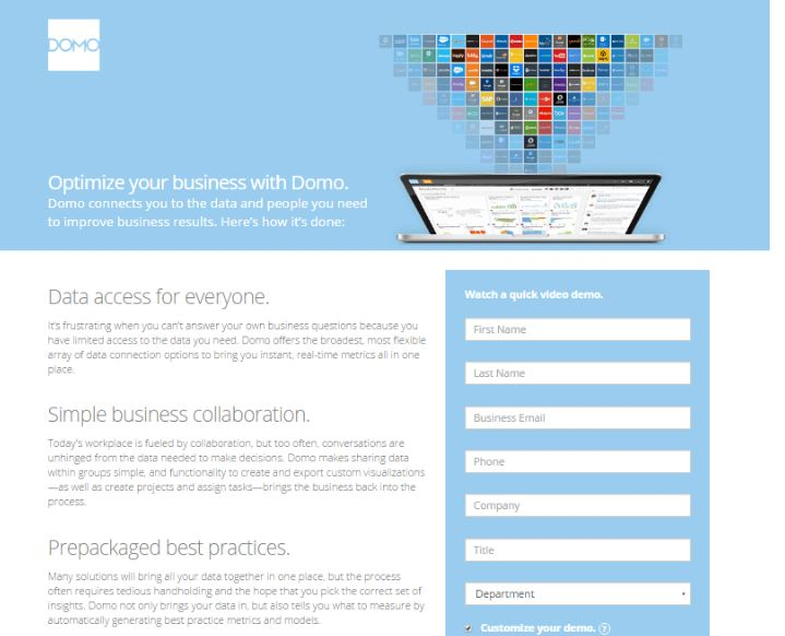 7 lý do nên sử dụng landing page trong kinh doanh online
