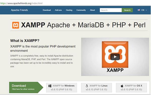 Cách cài đặt localhost với Xampp.