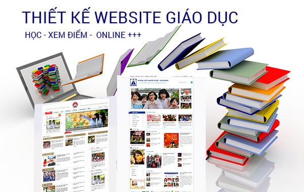Website học online có nhiều dạng khác nhau