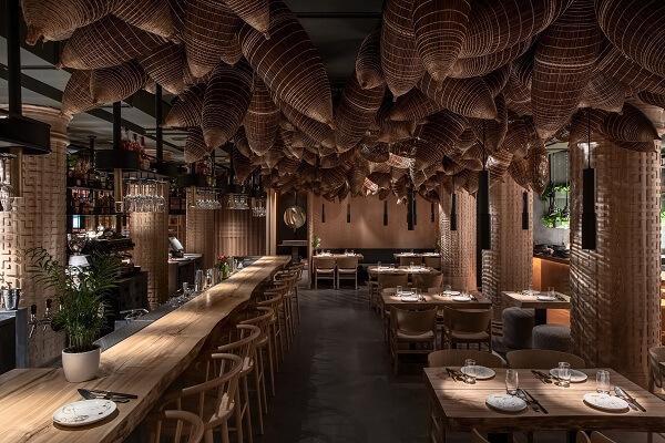 Nét đẹp của không gian nhà hàng là yếu tố quyết định đến website nhà hàng