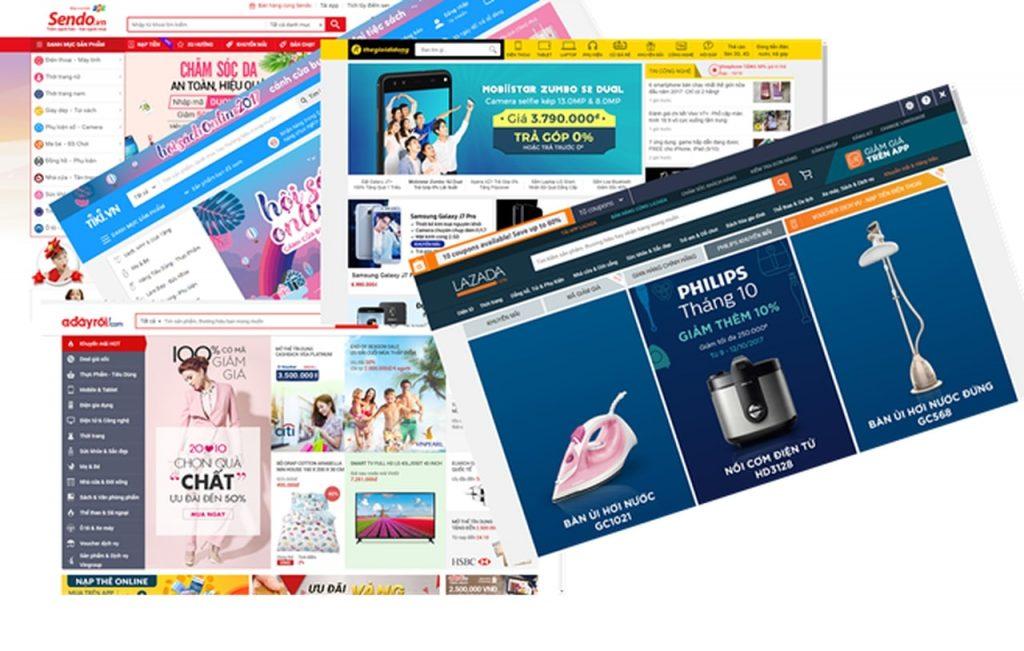 làm web thương mại điện tử